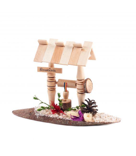 Fântână de lemn - Suvenir