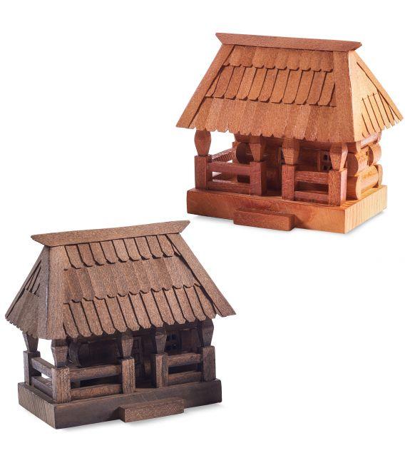 Casuță din lemn Maramureș, mică