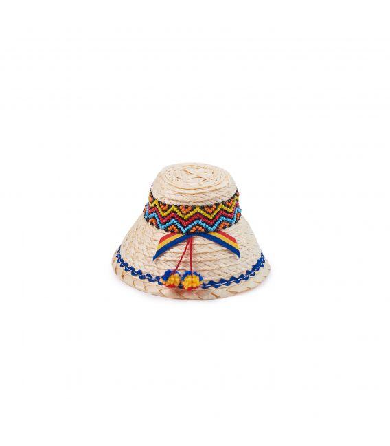 Clop tradițional cu mărgele Maramureș, Artizanal, 12 cm