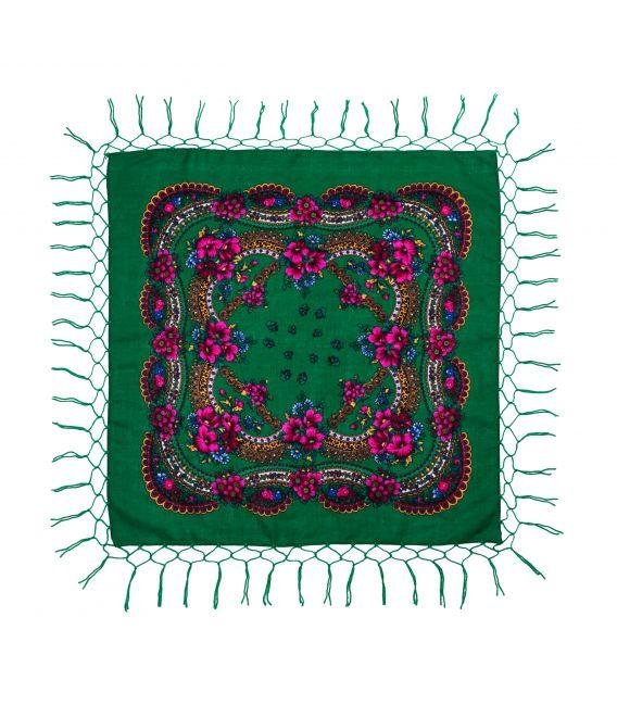 Batic tradițional cu franjuri 75 cm, Verde