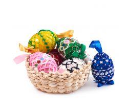 Ouă cu mărgele