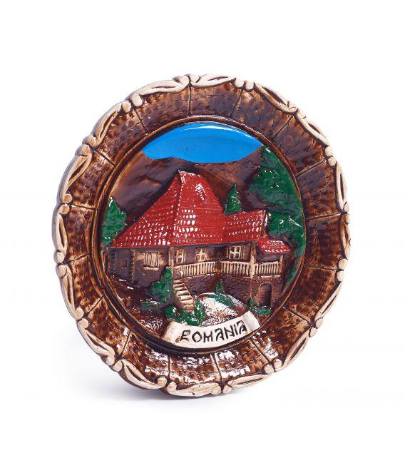 Tablou din ceramică - România