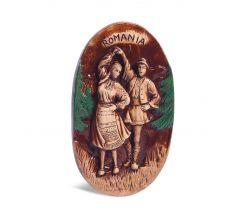 Tablou din ceramică - Dansatori