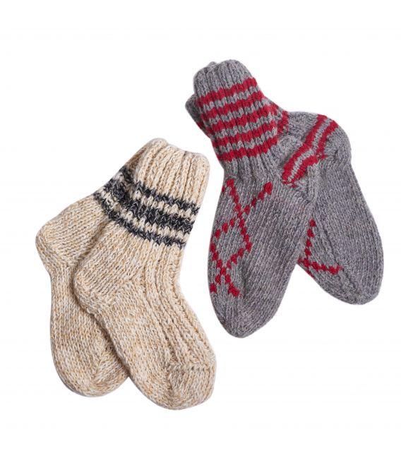 Ciorapi din lână de oaie pentru adulți