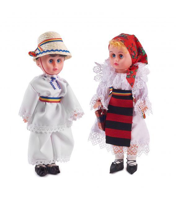 Cuplu țărani maramureșeni - 43 cm